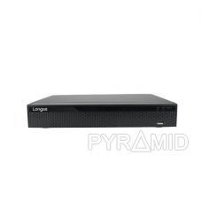 16 kamerų IP vaizdo įrašymo įrenginys Longse NVR3616DB, iki 4K, 2xSATA