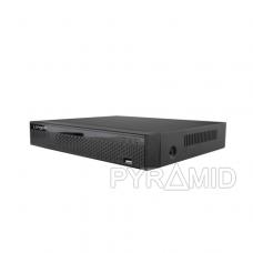 Pentabridinis 4 kamerų vaizdo įrašymo įrenginys Longse XVRT3004HD, iki 5Mp AHD, iki 5Mp IP, H.265