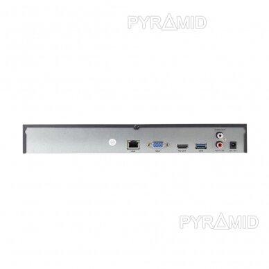 25 kamerų IP vaizdo įrašymo įrenginys Longse NVR3625DB, 1-8MP, iki 4K 2