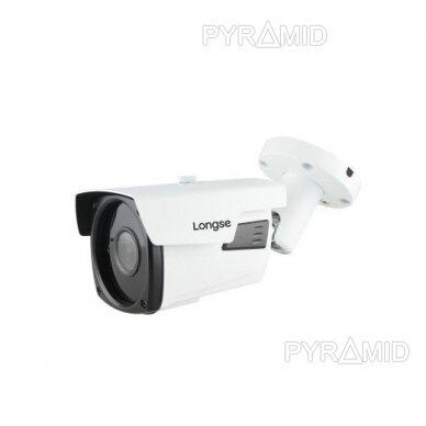 HD vaizdo stebėjimo kamera Longse LBP90HTC500NV 5MP (2592x1944px), 2,8-12mm, IR naktinis matymas iki 60m