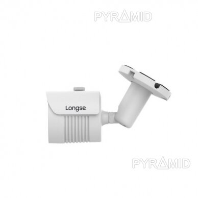 IP kamera Longse LBH30FE500, 5Mp, 2,8mm, 40m IR, POE, microSD jungtis 2