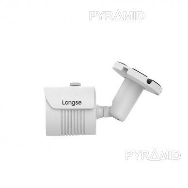 IP kamera Longse LBH30SS500, 5Mp Sony Starvis, 2,8mm, 40m IR, POE, microSD jungtis 2