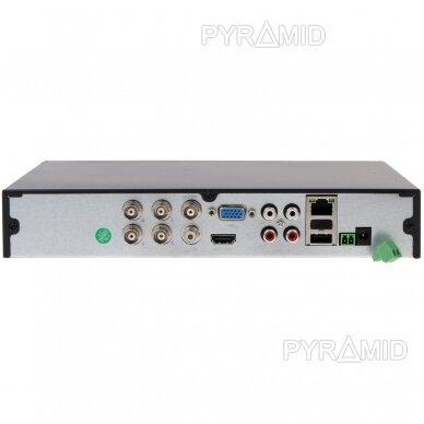 Pentabridinis 4 kamerų vaizdo įrašymo įrenginys Longse XVRDA2004HD, iki 5Mp AHD, iki 5Mp IP, H.265 3