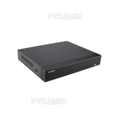 Pentabridinis 16 kamerų vaizdo įrašymo įrenginys Longse XVRDA3116HDB, iki 5Mp AHD, iki 4k raiškos IP, H.265 2