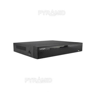 Pentabridinis 16 kamerų vaizdo įrašymo įrenginys Longse XVRDA3116HDB, iki 5Mp AHD, iki 4k raiškos IP, H.265 3