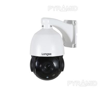 Valdoma IP stebėjimo kamera Longse PT5A022SS500, 5Mp, 18X zoom, 60m IR, 45°/s