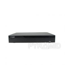 25 kamerų IP vaizdo įrašymo įrenginys Longse NVR3616CDBP, iki 4K 8Mp, 16xPOE