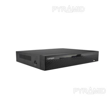 9 kamerų IP vaizdo įrašymo įrenginys Longse NVR3604DP, 5Mp, 4Mp, 3Mp, 2Mp, 4xPOE 3