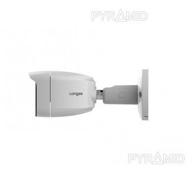 4K 8 megapikselių raiškos IP kamerų komplektas Longse - 1- 4 kameros BMSAML800/A, POE 3