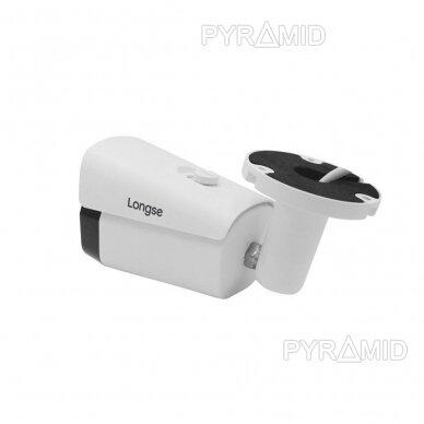 4K 8 megapikselių raiškos IP kamerų komplektas Longse - 1- 4 kameros LBF30ML800 3