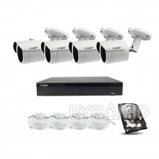 2MP resolution IP camera kit Longse - 2- 4 cameras LBH30HSF200
