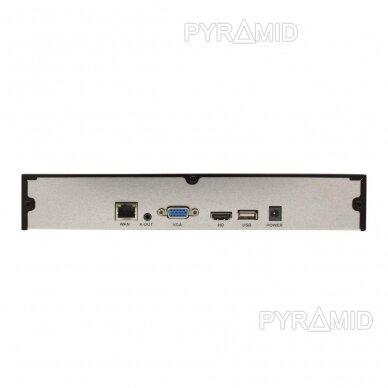 9 kamerų IP vaizdo įrašymo įrenginys Longse NVR3609D, 5Mp,4Mp,3Mp,1080p 3