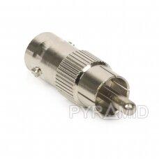 Adapter BNC (F) - RCA (M)