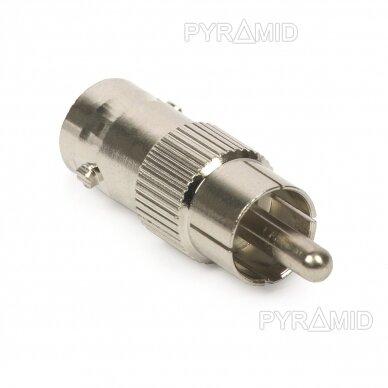 Adapteris BNC (F) į RCA (M)