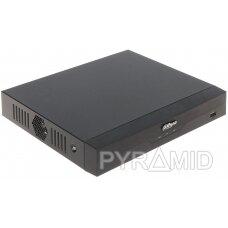 AHD, HD-CVI, HD-TVI, CVBS, TCP/IP REGISTRATORIUS XVR5104HS-I2 4 KANALAI DAHUA