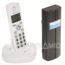 BELAIDIS DOMOFONAS SU TELEFONO FUNKCIJA D102W COMWEI