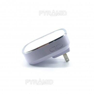 Belaidis domofono skambutis PYR-DB1M-P1 Pyramid domofonui, 220V 2