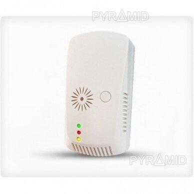 Belaidis dujų nuotėkio daviklis apsaugos sistemoms WALE PR-938W, 230V 2