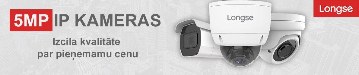 5Mp IP kameras