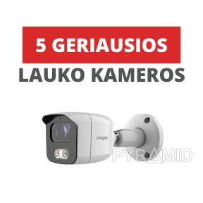 Geriausios lauko kameros namų apsaugai 2021
