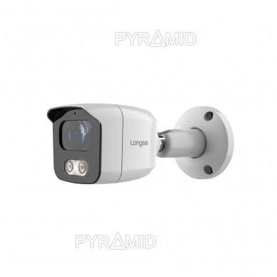 HD vaizdo stebėjimo kamera Longse BMSAHTC500FKPW, 5MP, 3,6mm, baltos šviesos LED iki 20m