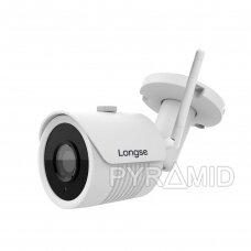 IP WiFi stebėjimo kamera Longse KTA-LBH30FE200W, Full HD 1080p, 3,6mm, (jungiama tik prie WIFI NVR)