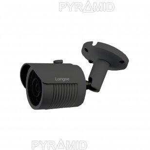 IP camera Longse LBH30SS500/DG, 5Mp Sony Starvis, 2,8mm, 40m IR, POE, microSD slot, dark grey
