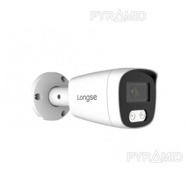 IP kamera Longse BMSCFE500/A, 2,8mm, 5Mp, 25m IR, POE, balta 2