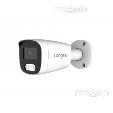 IP kamera Longse BMSCFE500/A, 2,8mm, 5Mp, 25m IR, POE, balta