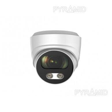 IP kamera Longse CMSBFE500, 2,8mm, 5Mp, 25m IR, POE, su mikrofonu