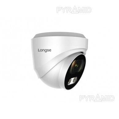 IP kamera Longse CMSBFE500, 2,8mm, 5Mp, 25m IR, POE, su mikrofonu 3