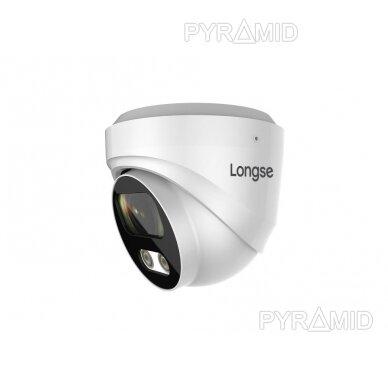 IP kamera Longse CMSBFE500, 2,8mm, 5Mp, 25m IR, POE, su mikrofonu 2