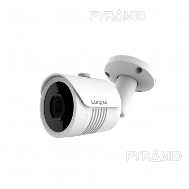 IP stebėjimo kamera Longse LBH30ML500, 2,8mm, 5Mp, 40m IR, POE, Smart funkcijos