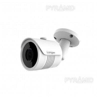 IP kamera Longse LBH30SS500, 5Mp Sony Starvis, 2,8mm, 40m IR, POE, microSD jungtis