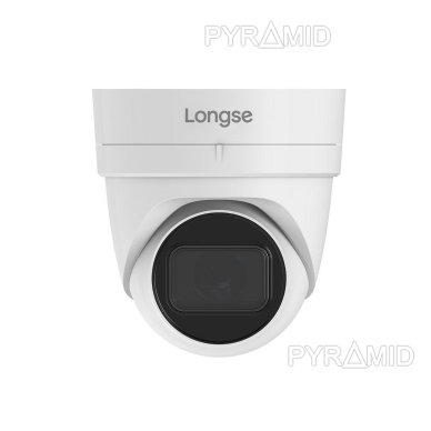 IP kamera Longse LIRABSS500, 5Mp Sony Starvis, 2,8mm, 40m IR, POE, microSD jungtis