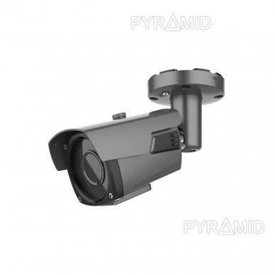 IP kamera Longse LBP60SS500/DG, 5Mp Sony Starvis, 2,8-12mm, 40m IR, POE, tamsiai pilka