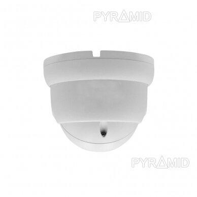 IP stebėjimo kamera Longse LIRDBAFE500/A, 2,8mm, 5Mp, 20m IR, POE, su mikrofonu, balta 3