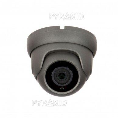 IP kamera Longse LIRDBASS500/DGA, tamsiai pilka, 5Mp, 2,8mm, POE, microSD, integruotas mikrofonas 3