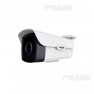 IP kamera Longse LBB90S800, 4K raiška 25fps, 8Mp, 5mm, microSD
