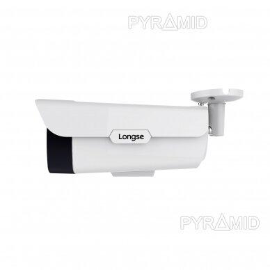 IP kamera Longse LBB90S800, 4K raiška 25fps, 8Mp, 5mm, microSD 2