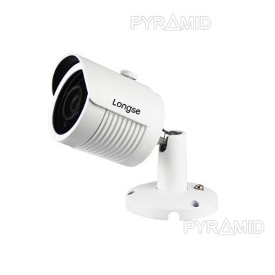 IP kamera Longse LBH30S800P, 4K raiška, 8Mp, 4mm, 30m IR, microSD jungtis, POE 3