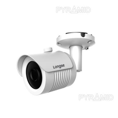 IP kamera Longse LBH30S800, 4K raiška, 8Mp, 3,6mm, 30m IR, microSD jungtis iki 512GB, POE