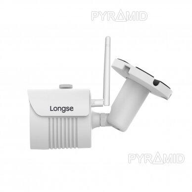 IP WiFi stebėjimo kamera Longse KTA-LBH30FE200W, Full HD 1080p, 3,6mm, (jungiama tik prie WIFI NVR) 2