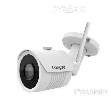 IP WiFi stebėjimo kamera Longse LBH30SW200W, Full HD 1080p, 2,8mm, (jungiama tik prie WIFI NVR)