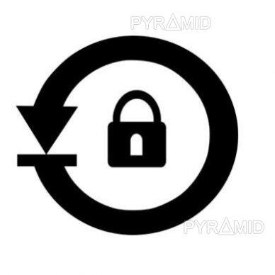 Įrenginių slaptažodžių atstatymas užmiršus