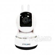 Išmanioji valdoma IP kamera PYRAMID PYR-SH200C, su WIFI ir microSD kortelės jungtimi, Full HD 1080p