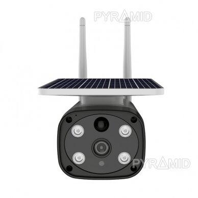 Išmanioji lauko kamera su sim kortele PYRAMID PYR-SH200SA, 4G, microSD jungtis, Full HD 1080p 2