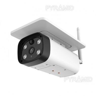 Išmanioji lauko kamera su sim kortele PYRAMID PYR-SH200SA, 4G, microSD jungtis, Full HD 1080p 3