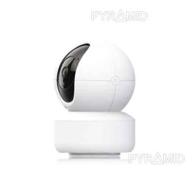 Išmanioji valdoma IP kamera PYRAMID PYR-SH200XD, su WIFI ir microSD jungtimi bei mikrofonu, HD 1080p 2
