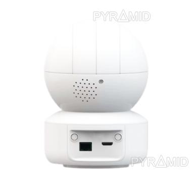 Išmanioji valdoma IP kamera PYRAMID PYR-SH200XD, su WIFI ir microSD jungtimi bei mikrofonu, HD 1080p 3